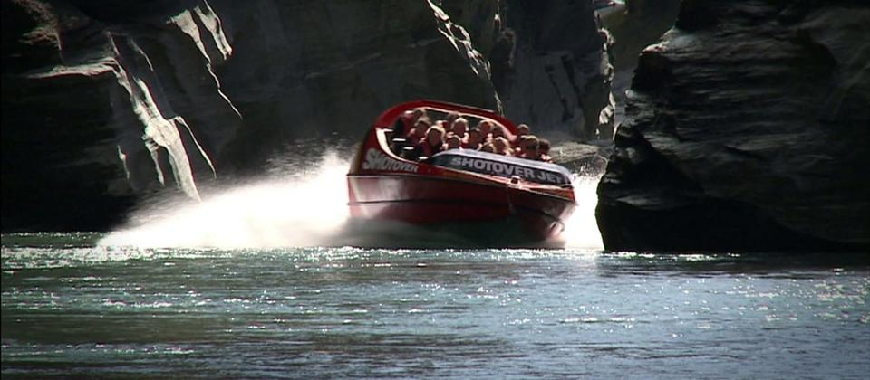 Shotover Jet the worlds most famous Jet Boat ride